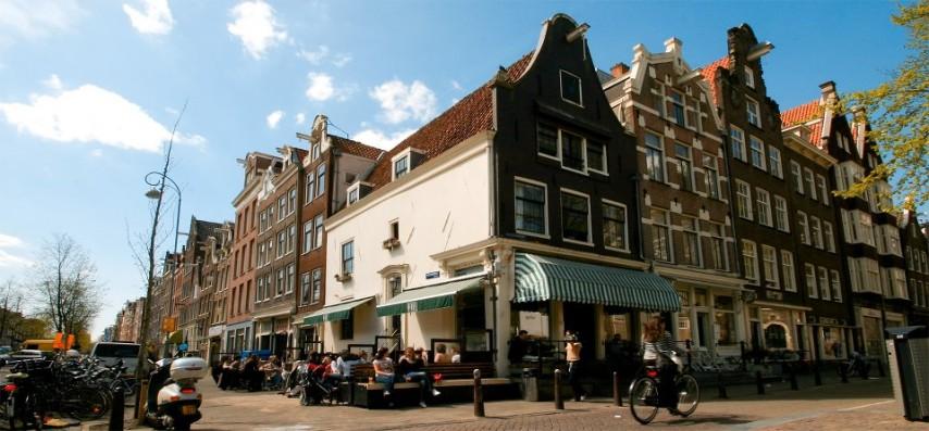Café Winkel 43 en Ámsterdam