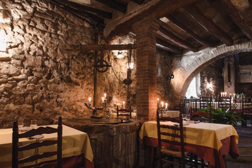 Interior del restaurante Cal Ganxo