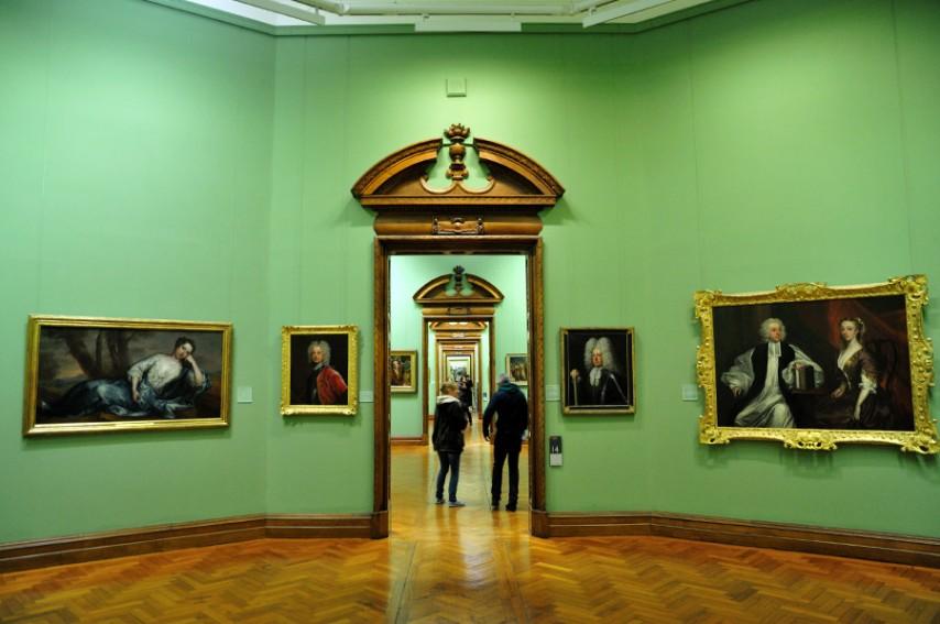 Galería nacional de Irlanda en Dublín