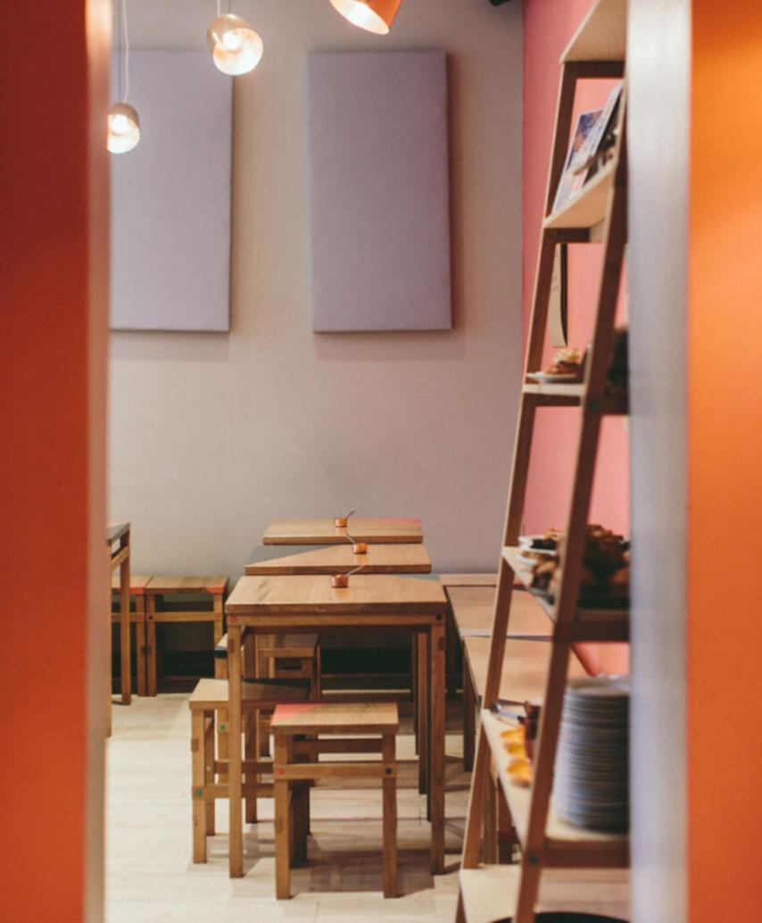 Cafetería para desayunar en Dublín