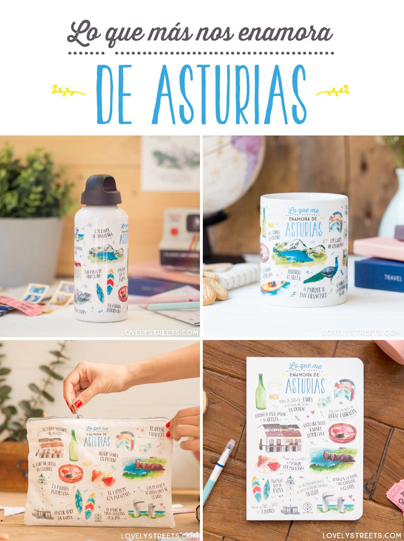 Productos Asturias por Lovely Streets