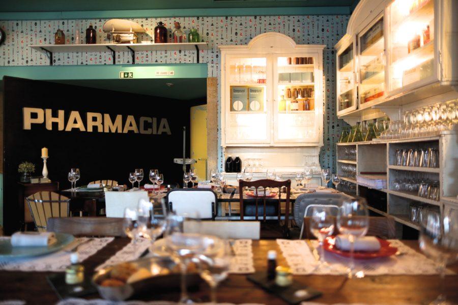 Maneras de descubrir Lisboa: come en una farmacia