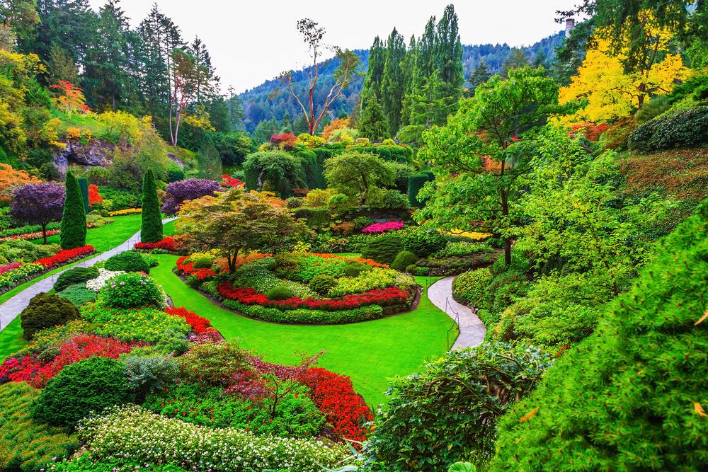 Los jardines m s bonitos del mundo lovely streets for Jardines butchart