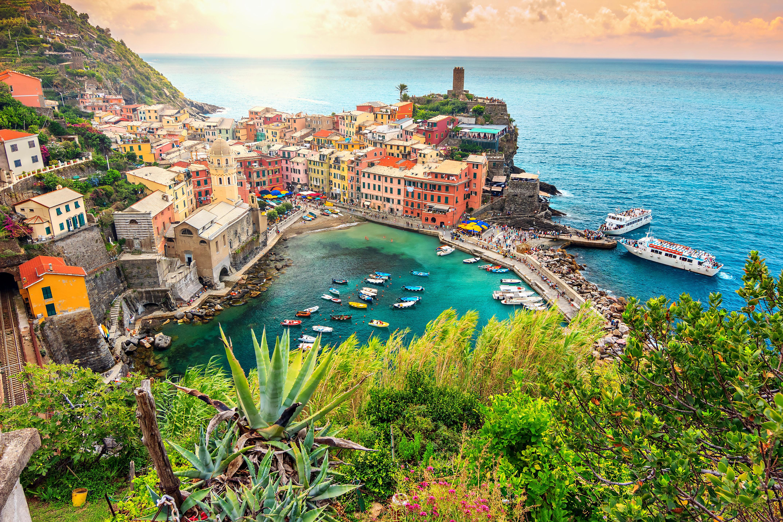 Cinque Terre una de las zonas más bonitas de Italia