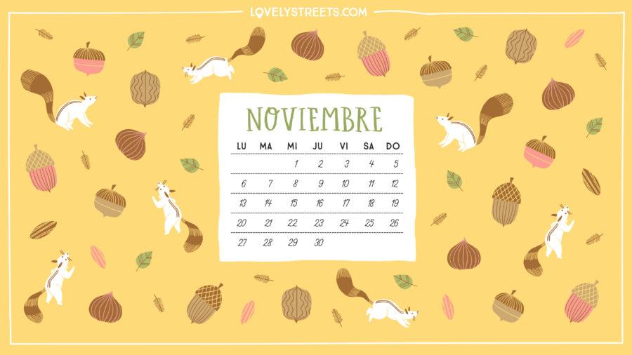 El otoño da sus frutos en nuestro descargable de noviembre