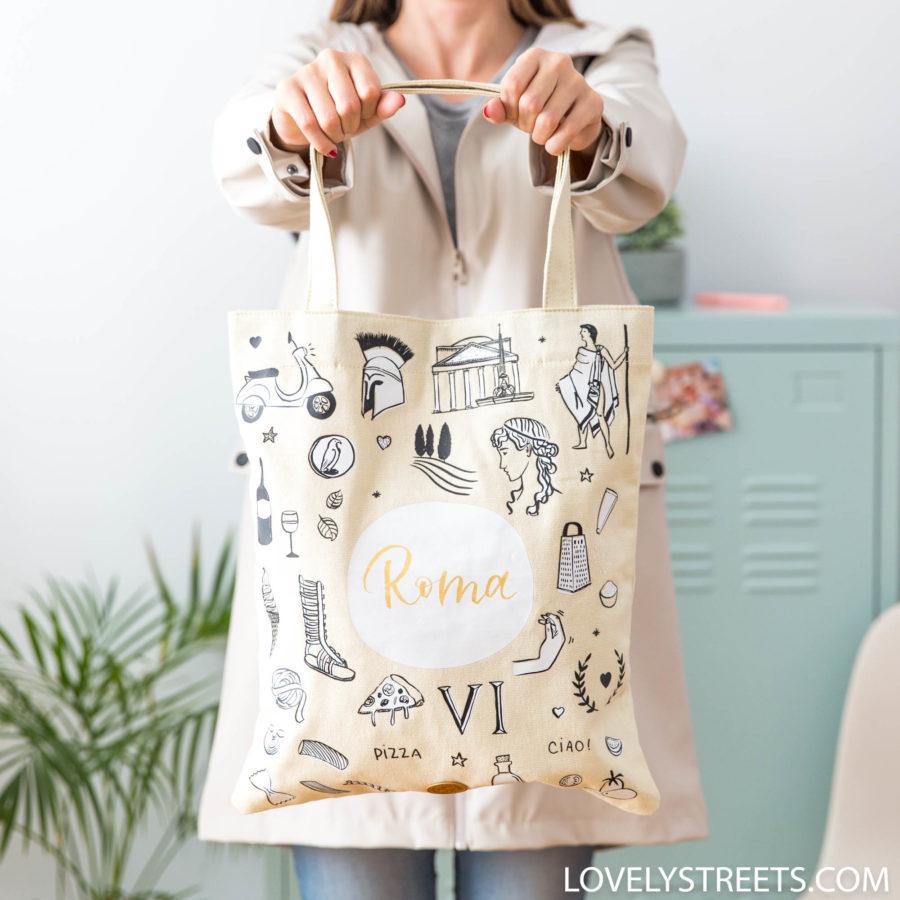 Nuevas tote bags Lovely Streets para tus aventuras urbanas