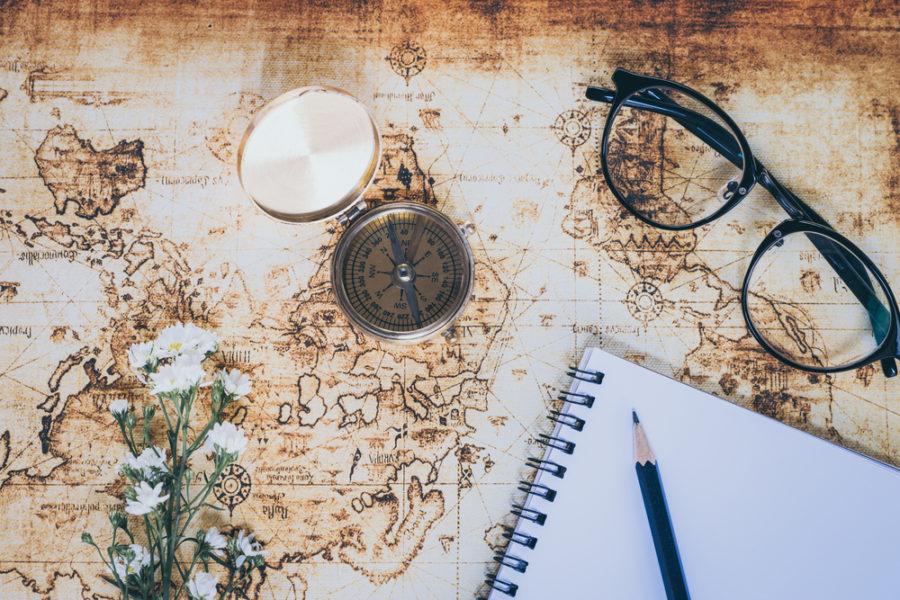 Escribir un cuaderno de viaje es cool