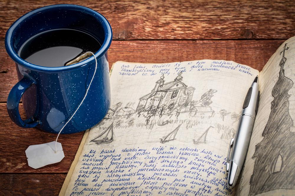 Cómo escribir un cuaderno de viaje