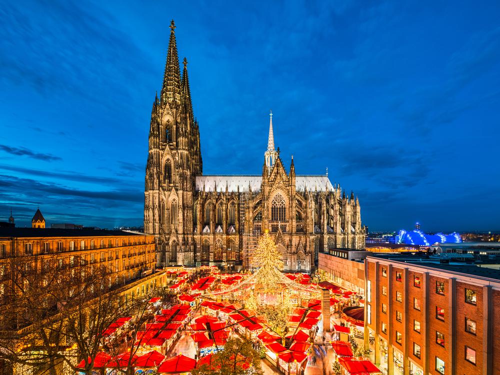 Luces de Navidad en Colonia