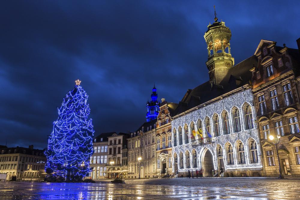 Luces de Navidad en Bruselas