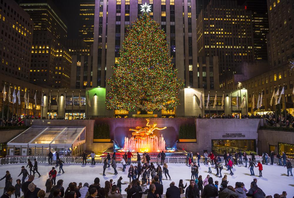 Luces de Navidad en Nueva York