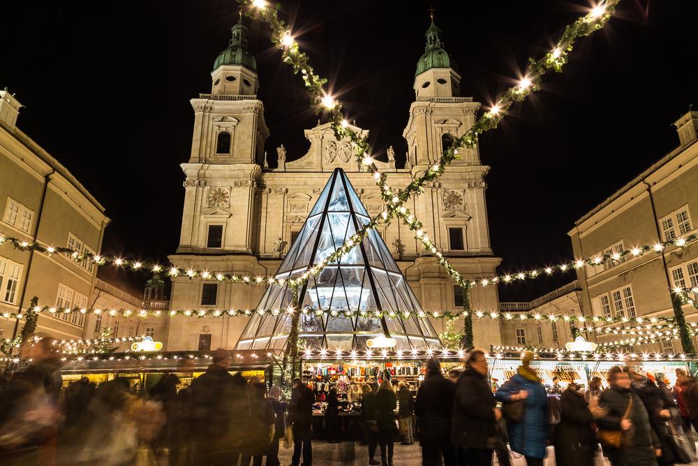 Luces de Navidad Salzburgo