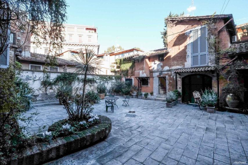 Exterior del apartamento en Roma, en el barrio del Trastevere, del sorteo con Muchosol