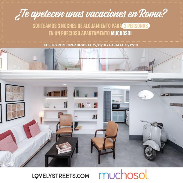 Te invitamos a unas vacaciones en Roma con Muchosol
