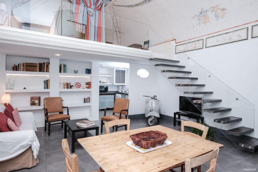 Interior del apartamento Muchosol en la ciudad de Roma